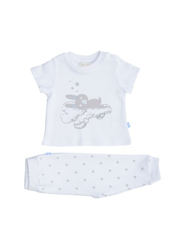 Mammaramma Pijama Takım Beyaz